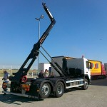 Novo vozilo za prevoz rol kontejnera