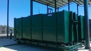Rol kontejneri na transfer stanici